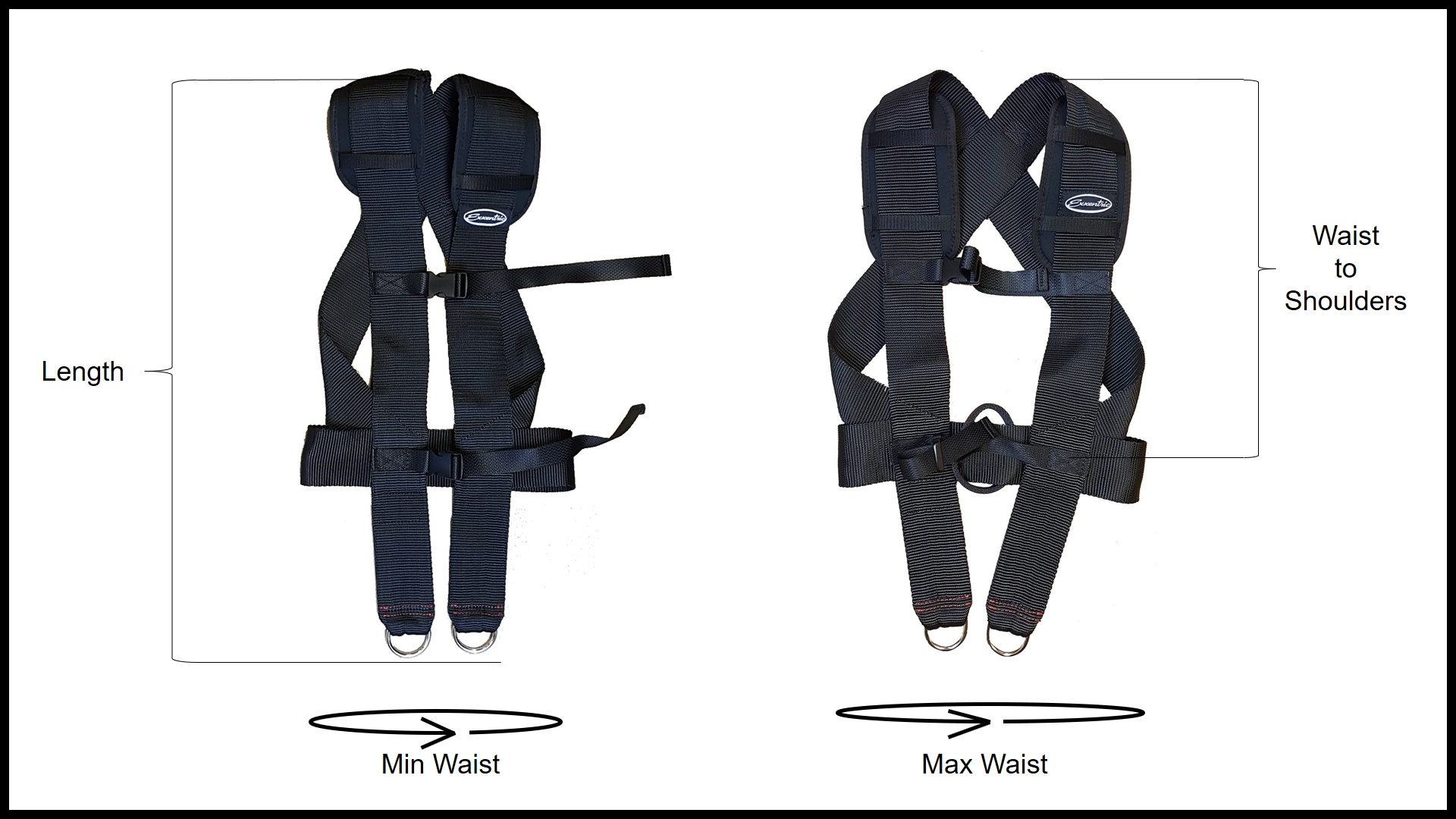 Harness size guide explanation