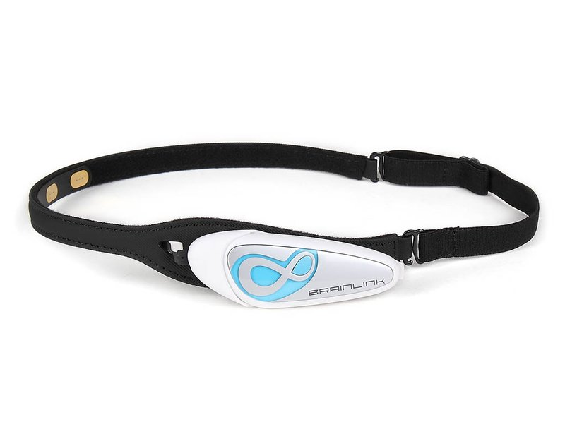 Picture of the EEG Headset Brainlink Lite by Macrotellect