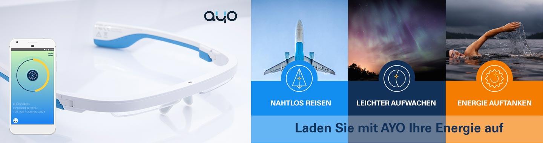 Ayo - Lichtbasiertes Energy Wearable Headset