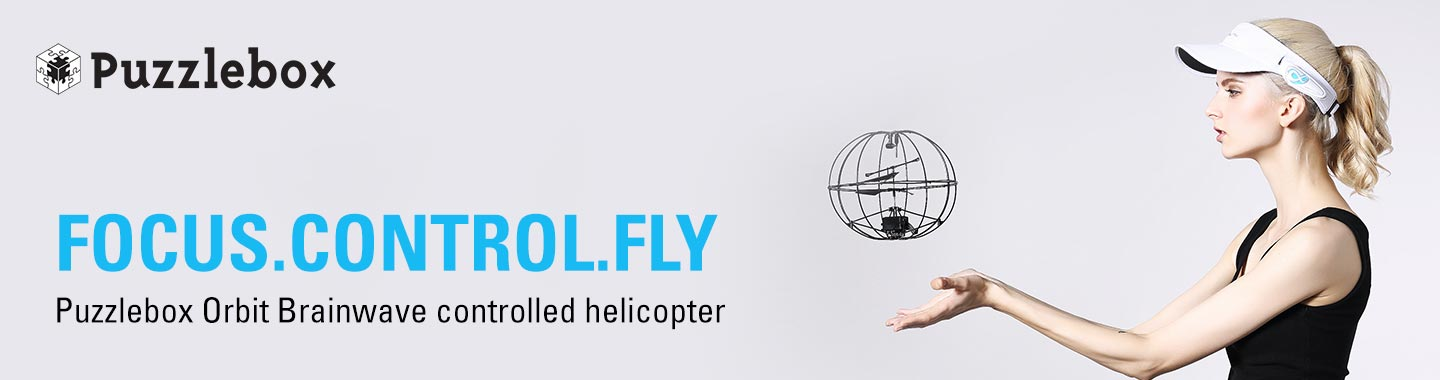 Puzzlebox Orbit Brainwave Helicopter