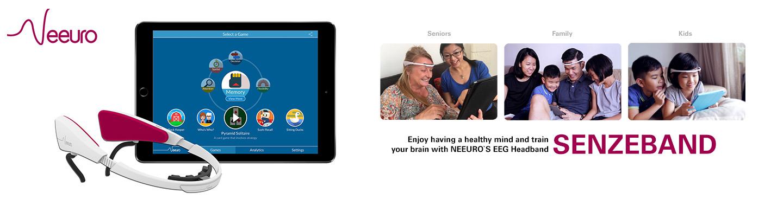 NEEURO Senzeband EEG Headband