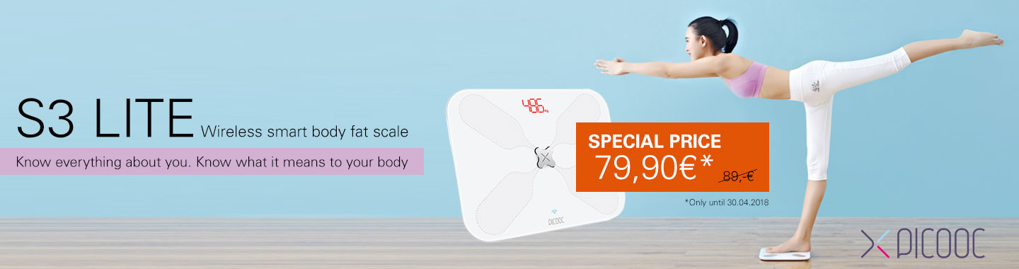 Picooc Smart body fat scale S3 Lite