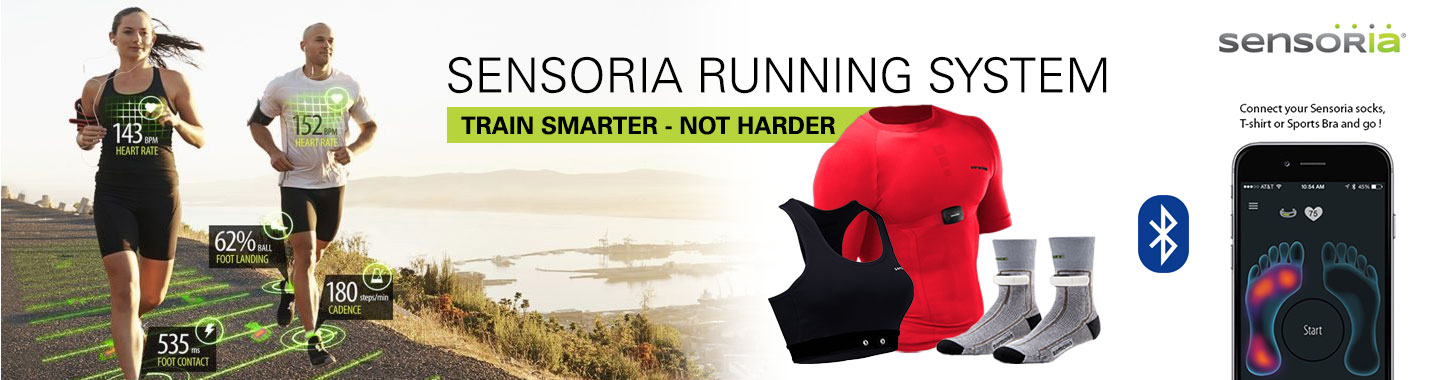 Create your own Sensoria Fitness Running Syst